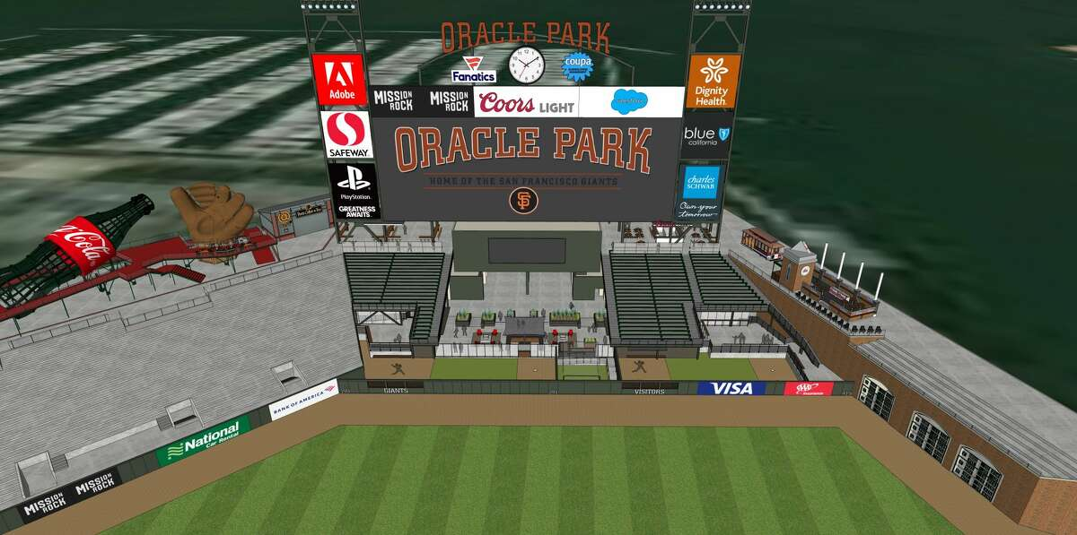 The SF Giants released new renderings of the new location of the pitcher bullpens at Oracle Park. Next season they will be located behind the centerfield fence.