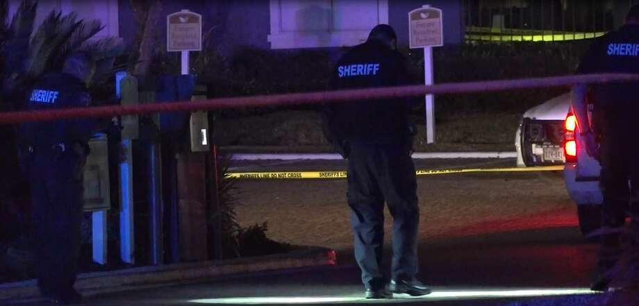 A 20-year-old that was fatally shot near an Atascocita apartment complex Thursday was found with a pistol and drugs, according to Harris County Sheriff Ed Gonzalez. Photo: OnScene.TV
