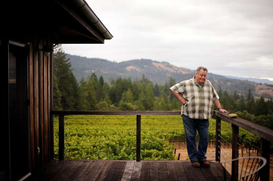 Burt Williams began making garage wine in the 1970s. It became the most coveted California wine. Photo: Erik Castro / Special To The Chronicle 2011