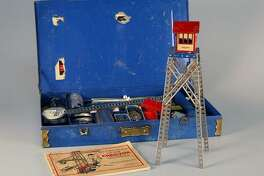 1924: Erector Set Original estimated retail price: $1 to $10 Conceived in 1911 by A. C. Gilbert during a train ride from Connecticut to New York City, Erector Set was the first toy ever to use a national ad campaign. It was also the only construction toy of its time to utilize a motor on special units, which contributed to its allure. The earliest incarnations focused on skyscrapers, but Erector Set was redesigned in 1924 to incorporate everything from trains to Ferris wheels. Meanwhile, the name was so catchy that it's now commonly used as a generic term for home construction sets. You may also like: Most imported endangered animals to America This slideshow was first published on theStacker.com