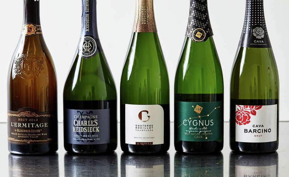 Toast this holiday season with lots of bubbly, starting as low as $15