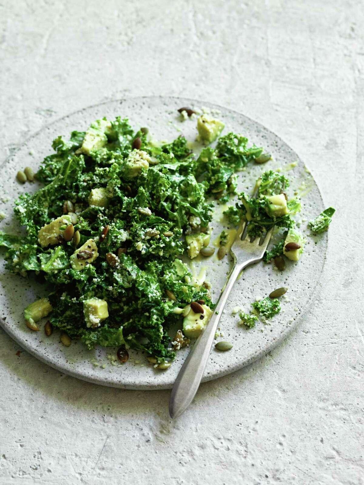Trick Dogs Kale Salad