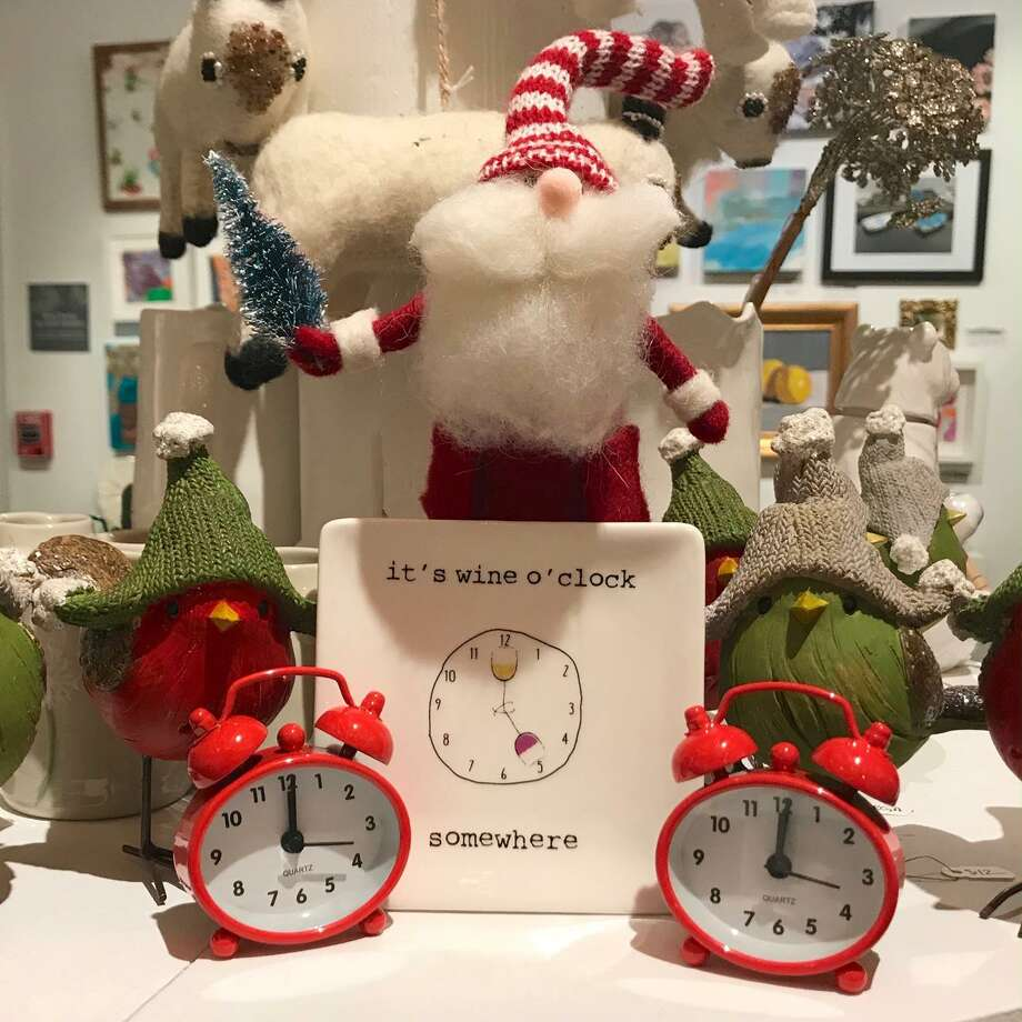 Ridgefield Guild of Artists' 15th annual Festive Home holiday showcase is open daily through Sunday, Dec. 22. Photo: Mary Harold