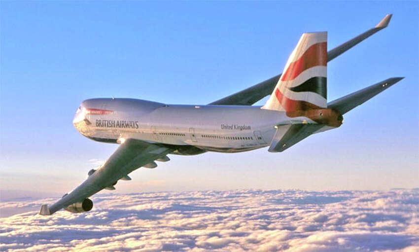 British Airways will use a 747-400 for San Jose flights next year.