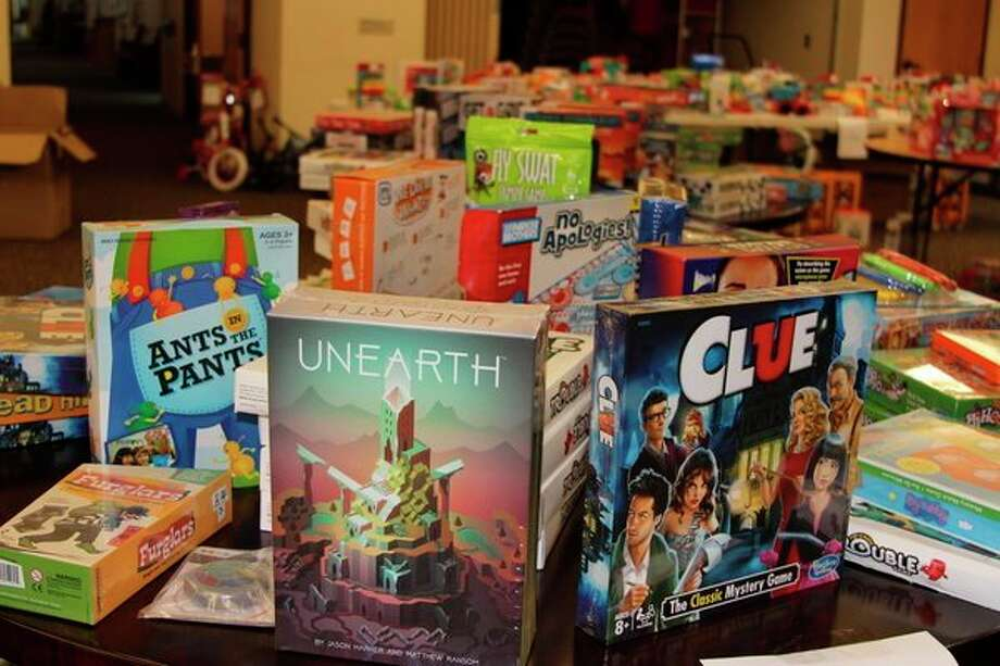 The Holiday Store, part of the Benzie County Toys for Tots Program, served around 800 children with an assortment of toys for children of all ages. (Photo/Colin Merry)