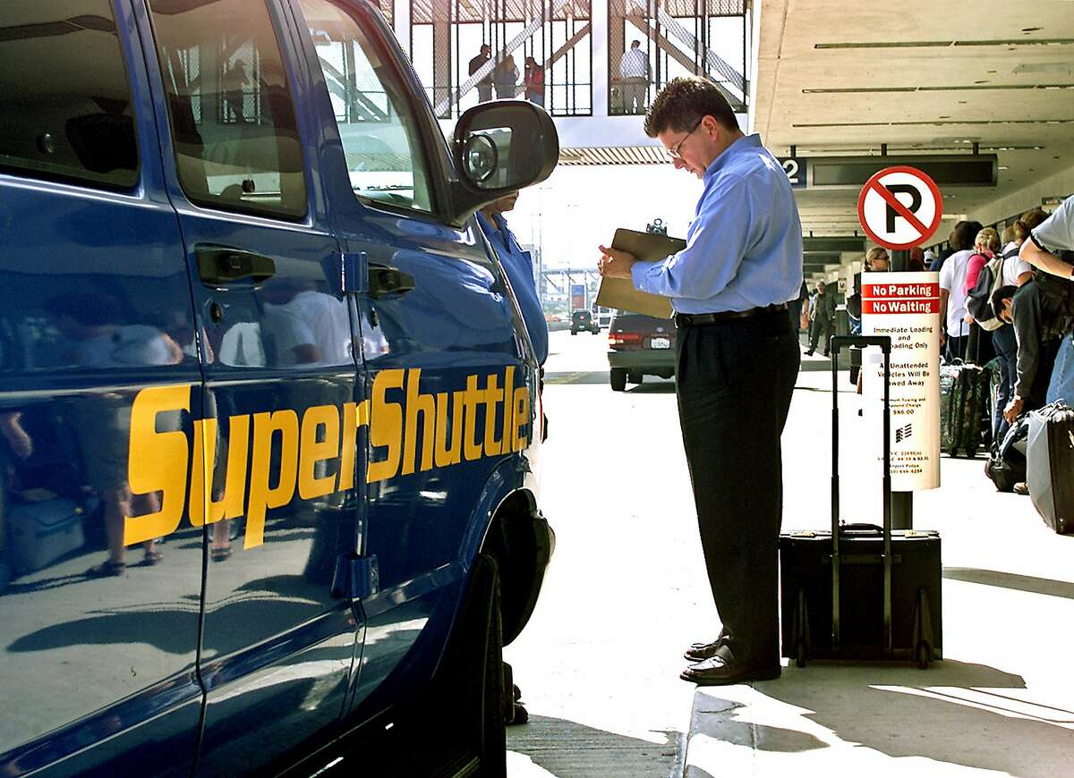 SuperShuttle has been serving passengers for nearly four decades. (Ricardo DeAratanha/Los Angeles Times/TNS)