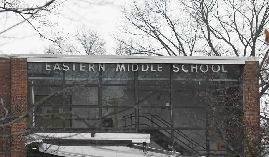 Eastern Middle School in the Riverside section of Greenwich, Conn., photographed on Tuesday, Dec. 10, 2019. Photo: File / Tyler Sizemore / Hearst Connecticut Media / Greenwich Time