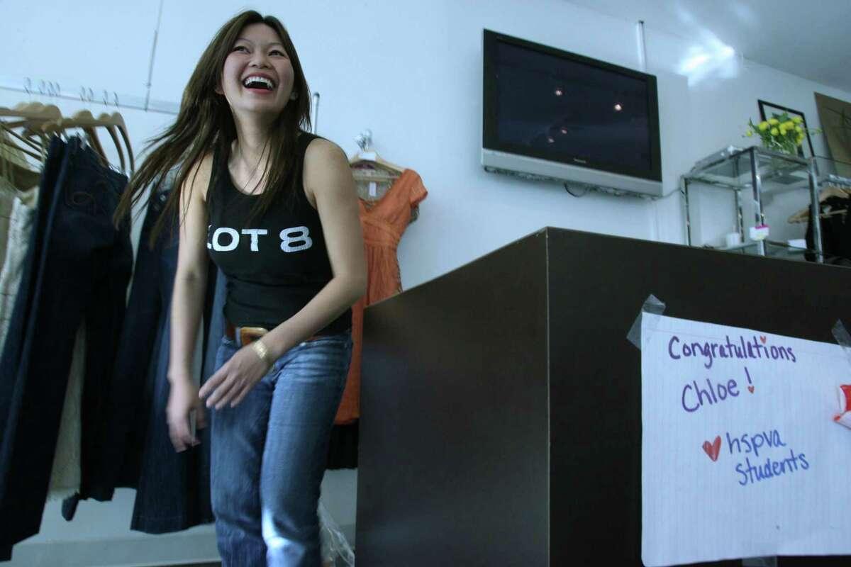 Chloe Dao, a Houston fashion designer. Naughty