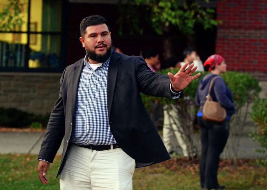 File photo of Bridgeport State Rep. Chris Rosario. Photo: Christian Abraham / Hearst Connecticut Media / Connecticut Post