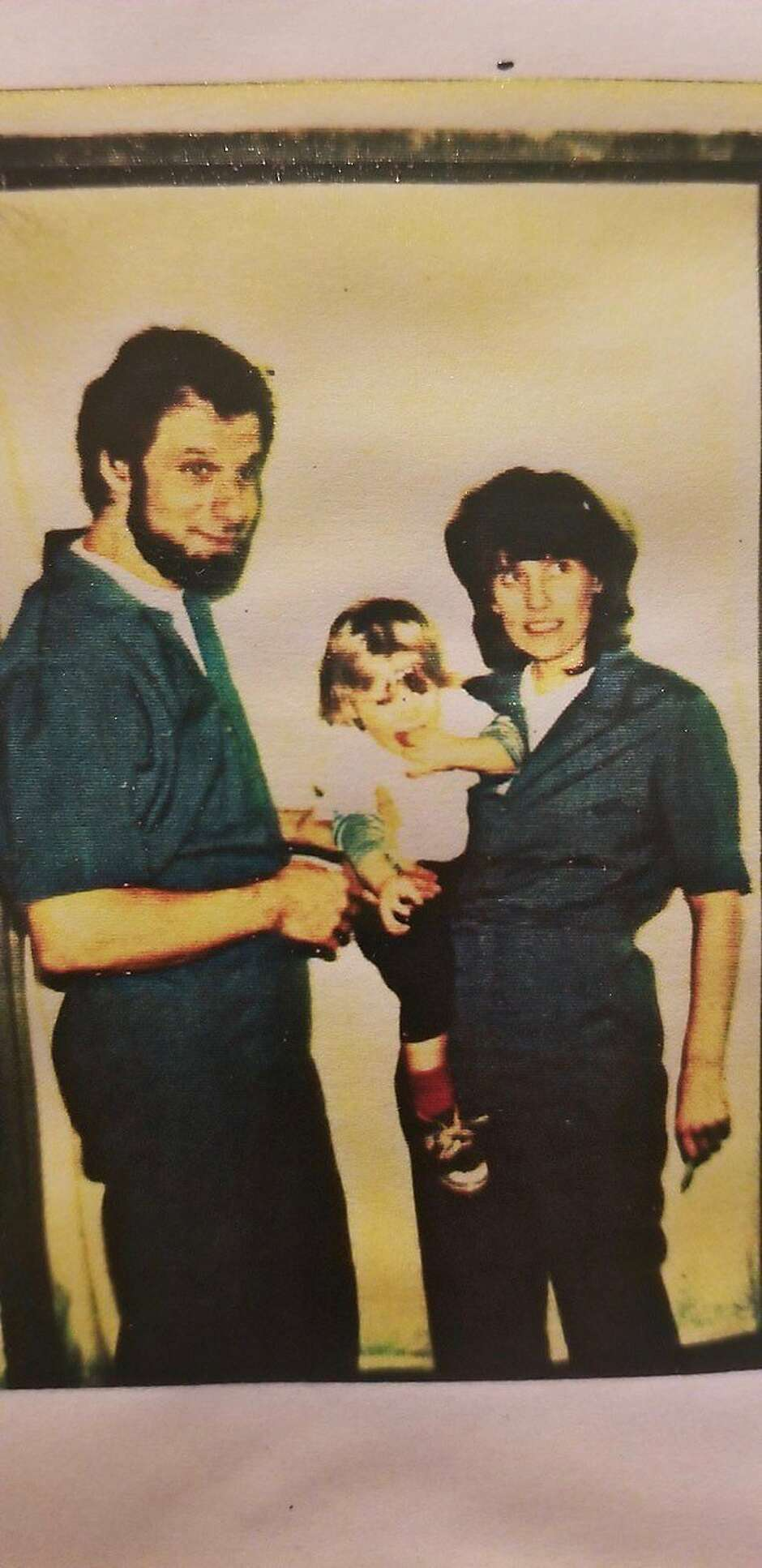 Boudin with his parents, David Gilbert and Kathy Boudin, who went to prison for their part in a deadly armored car robbery in 1981.