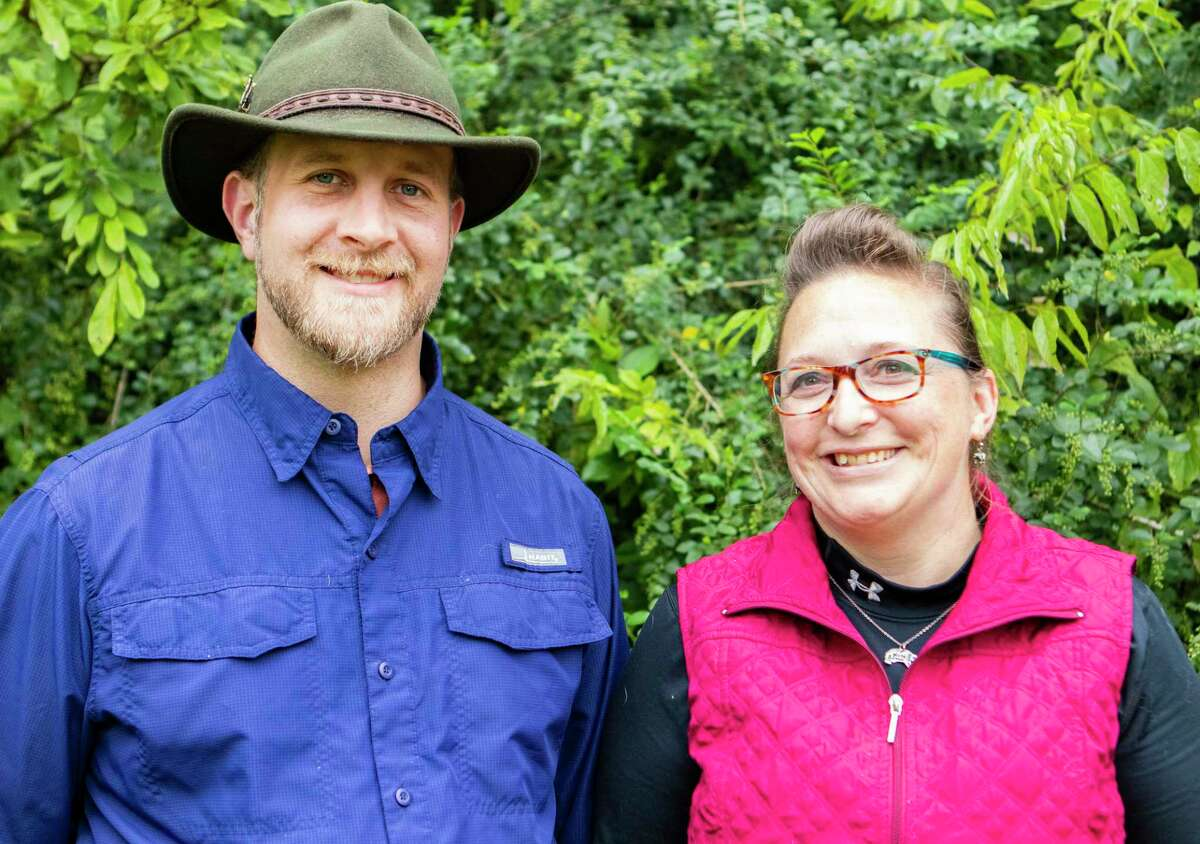 Kati Krouse executive director Bears Etc. and her husband Ambrose Krouse have been raising the money necessary to open a bear sanctuary.