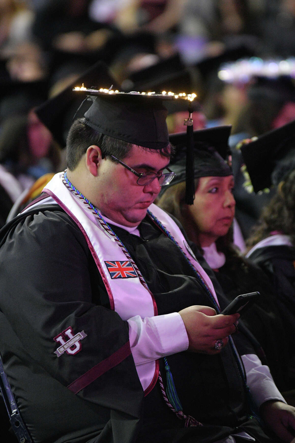Over 800 candidates for graduation from Texas A&M International University participated in the Summer and Fall 2019 Commencement Exercises at the Sames Auto Arena.