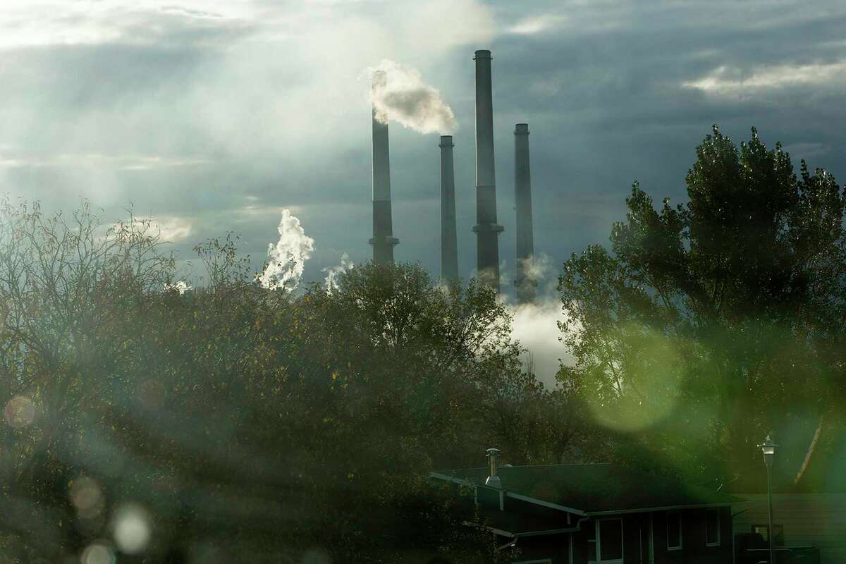 A coal plant in scenic Montana. Despite widespread scientific consensus about man-made climate change, the Republican Party continues to be in denial.