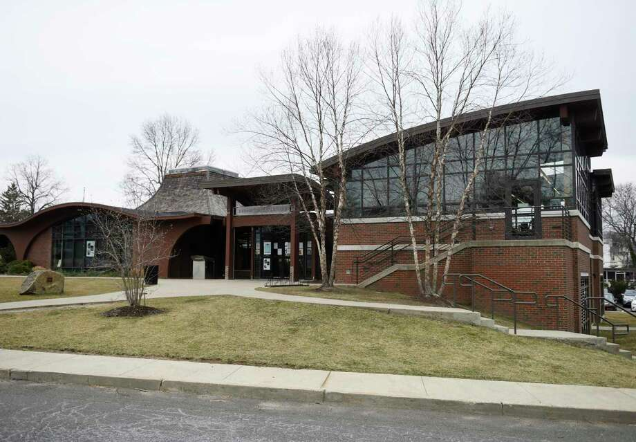 The Byram Shubert Library in the Byram section of Greenwich, Conn., photographed on Monday, March 25, 2019. Photo: File / Tyler Sizemore / Hearst Connecticut Media / Greenwich Time