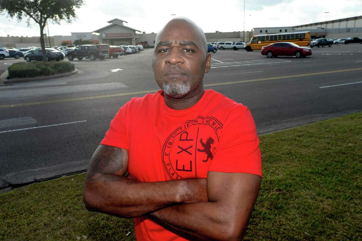 Geary Senigaur is spearheading a crime deterring effort Saturday at Parkdale Mall. He and others will be on site for a