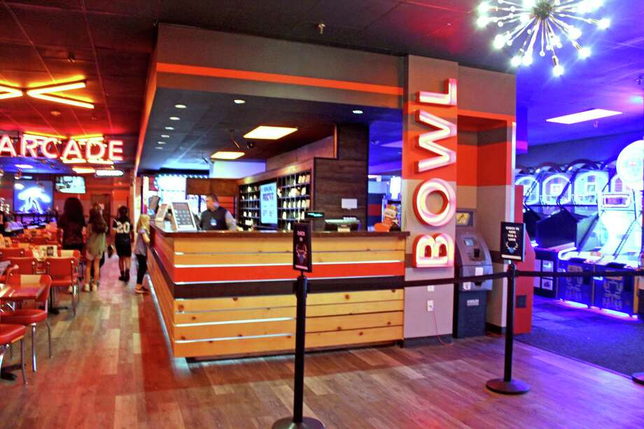 The Bowlero Lanes in Stafford recently unveiled its $1 million upgrade. Photo: Kristi Nix / Staff Photo