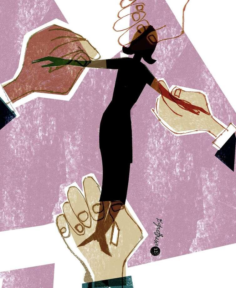 Illustration for Susan Campbell column on women's health Photo: Donna Grethen / Donna Grethen