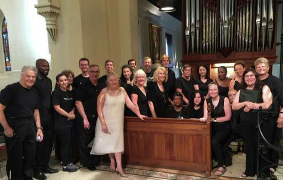 Pam Kuhn & The Angel Choir will perform Wednesday at 11 a.m. for the Family Holiday Celebration at the Greenwich Retired Men's Association at the First Presbyterian Church. Free and open to the public. Photo: Contributed /