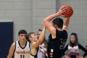 The USA boys basketball team defeated the Harbor Beach Pirates by a score of 81-46 on Friday, Dec. 13.