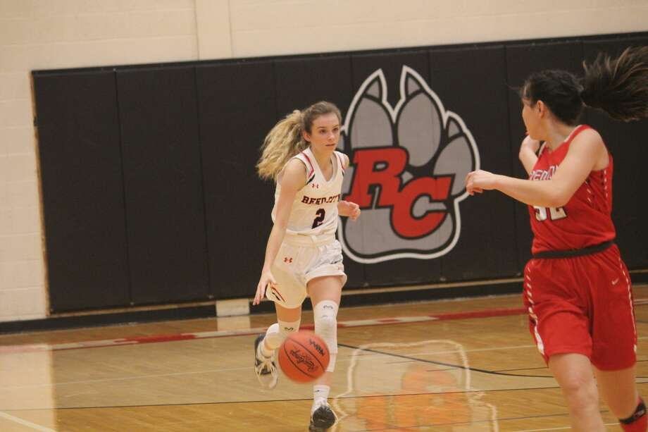 Reed City girls basketball team opened its CSAA season on Friday with a 55-40 loss to Fremont Photo: John Raffel