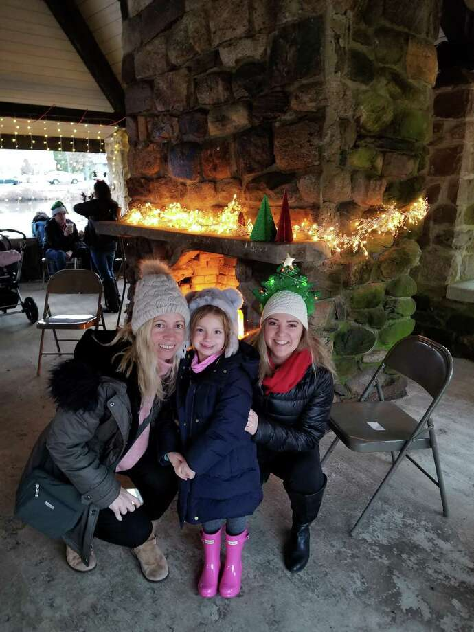 Darien's Parks & Rec is holding an old fashioned holiday event Saturday. Scenes from last year's event. Photo: Contributed