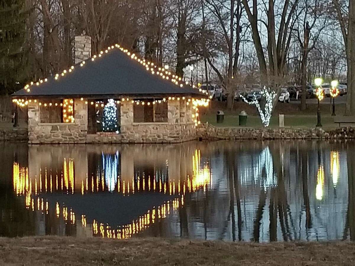 Darien's Parks & Rec is holding an old-fashioned holiday event Saturday. Above is a scene from last year's event.