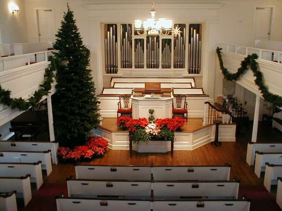 Two Darien churches will hold Christmas concerts Sunday evening. Photo: Contributed