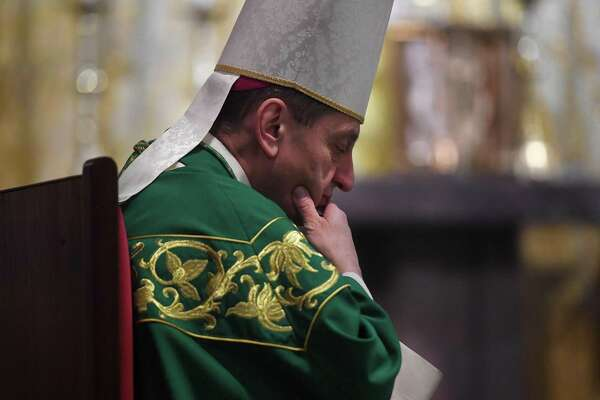 Bishop Frank Caggiano has been credited with initiating change after sexual abuse allegations in the Diocese of Bridgeport.