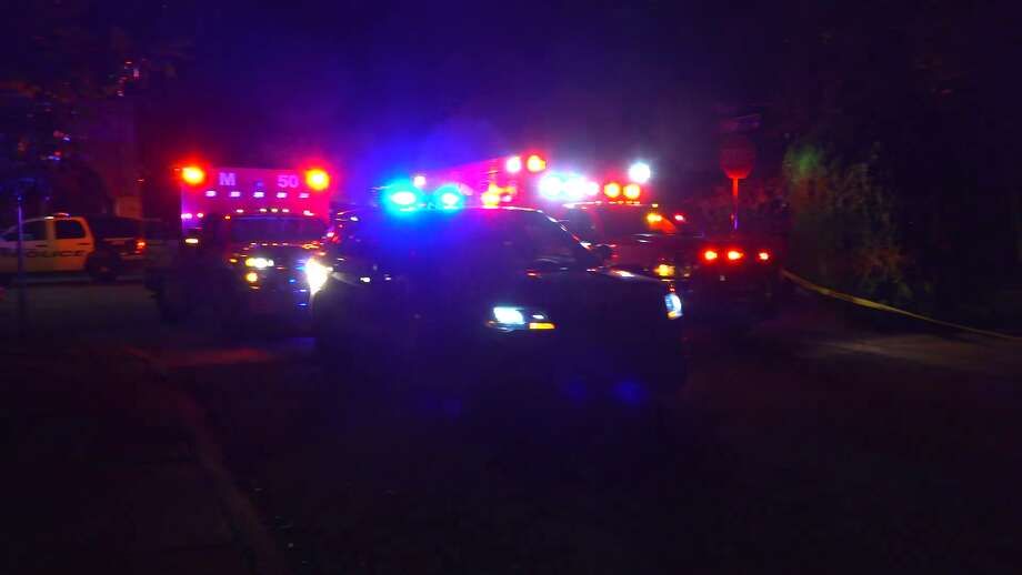 A man was shot dead just after midnight Saturday in a Spring Branch apartment, police said. Photo: On Scene