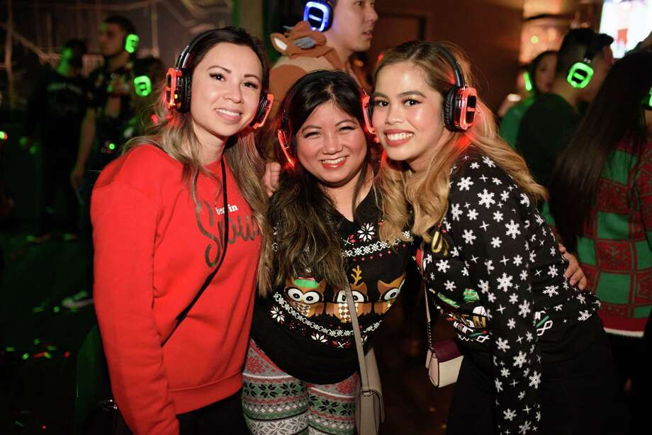 Silent Disco at 40 Below in Downtown Houston on Friday, Dec 13, 2019 Photo: Jamaal Ellis, Contributor / © 2019