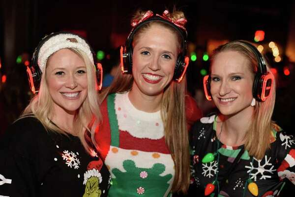 Silent Disco at 40 Below in Downtown Houston on Friday, Dec 13, 2019