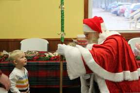 The Huron County Nature Center hosted its first Winter Celebration on Saturday. Attendees could get into the Christmas spirit by making decorating cookies, making homemade decorations, listening to Christmas stories, and meeting Santa Claus.