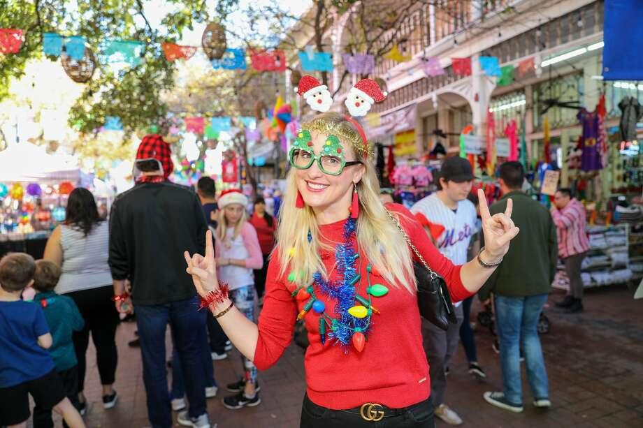 San Antonians celebrated La Gran Tamalada at the Historic Market Square on Saturday, December 14, 2019. Photo: Marco Garza