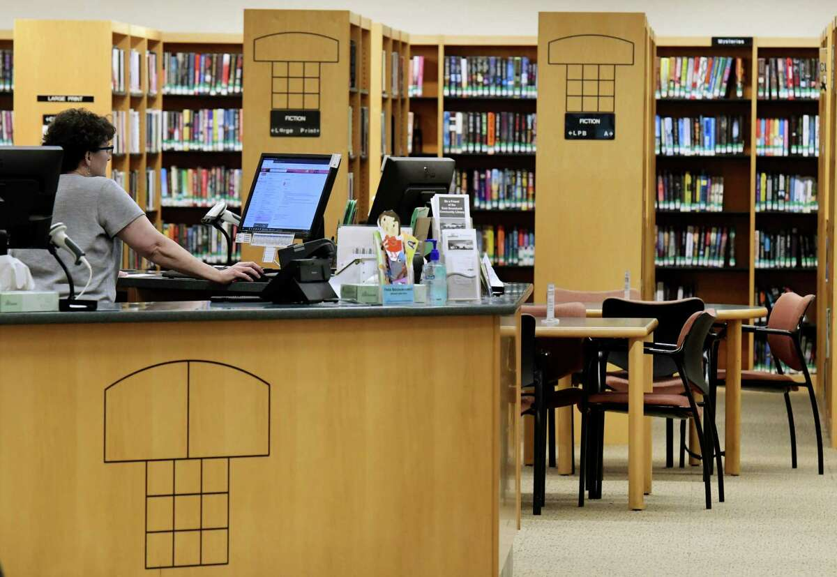 Interior of the East Greenbush Community Library. (Will Waldron/Times Union)