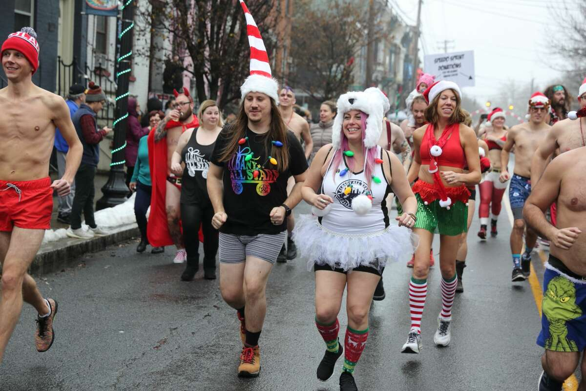 Were you Seen at the 14th Annual Santa Speedo Sprint on Lark Street in Albany on Saturday, Dec. 14, 2019?