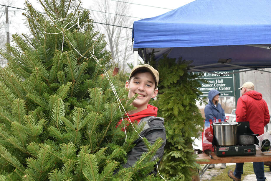 In Pictures: The Colebrook Holiday Fair was held on Saturday, December 14th. Crafts, food, gifts and Christmas Trees were a few of the things offered for sale at the cheerful town event. Photo: Lara Green- Kazlauskas/ Hearst Media