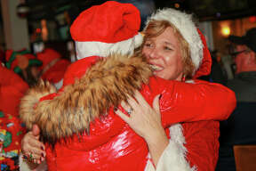 Santas swarmed the streets of Milford during the annual SantaCon bar crawl on December 14, 2019. Were you SEEN?