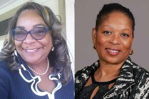 Houston ISD school board candidates Kathy Blueford-Daniels, running in District II, and Patricia Allen, running in District IV, held leads Saturday in their runoff elections.