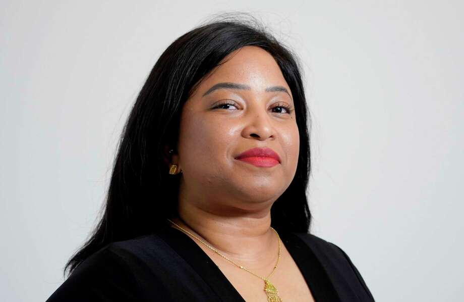 Janaeya Carmouche, candidate for At large Position 3. Photo: Jill Karnicki, Houston Chronicle / Staff Photographer / Houston Chronicle