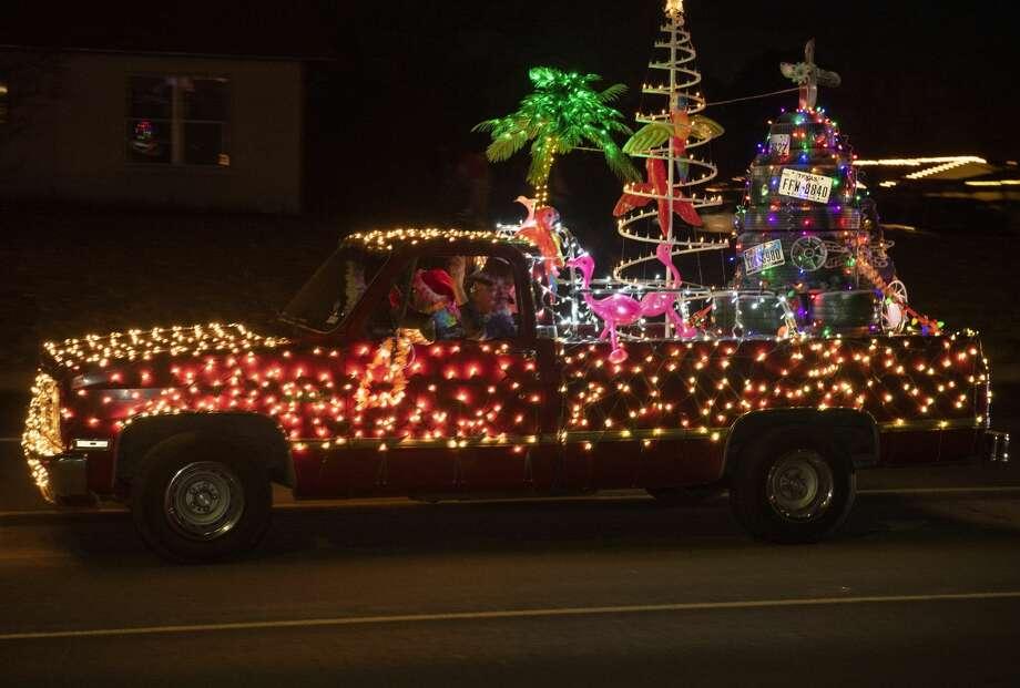 The 2019 City of Midland Christmas Parade. 12/14/19 Tim Fischer/Reporter-Telegram Photo: Tim Fischer/Midland Reporter-Telegram