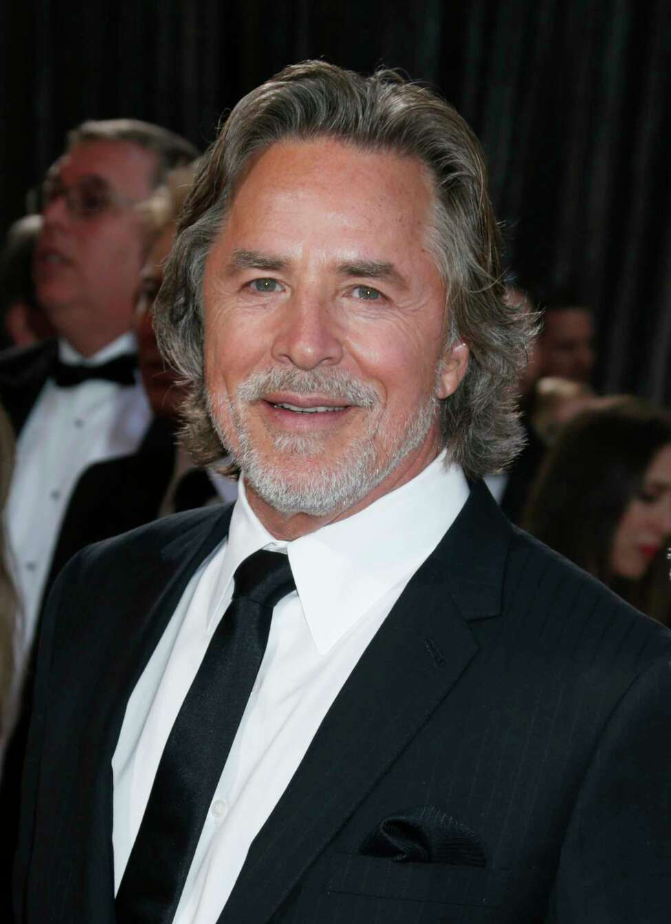 Actor Don Johnson arrives at the Oscars at the Dolby Theatre on Sunday Feb. 24, 2013, in Los Angeles. (Photo by Todd Williamson/Invision/AP)