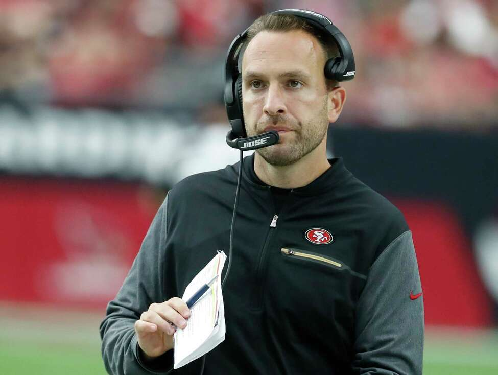 FILE - This Oct. 1, 2017 file photo shows San Francisco 49ers Jeff Hafley during an NFL football game against the Arizona Cardinals in Glendale, Ariz. Hafley is the new Boston College football coach. a€œJeffa€™s shown throughout his coaching career he is a tremendous leader with high integrity and a gift for teaching,