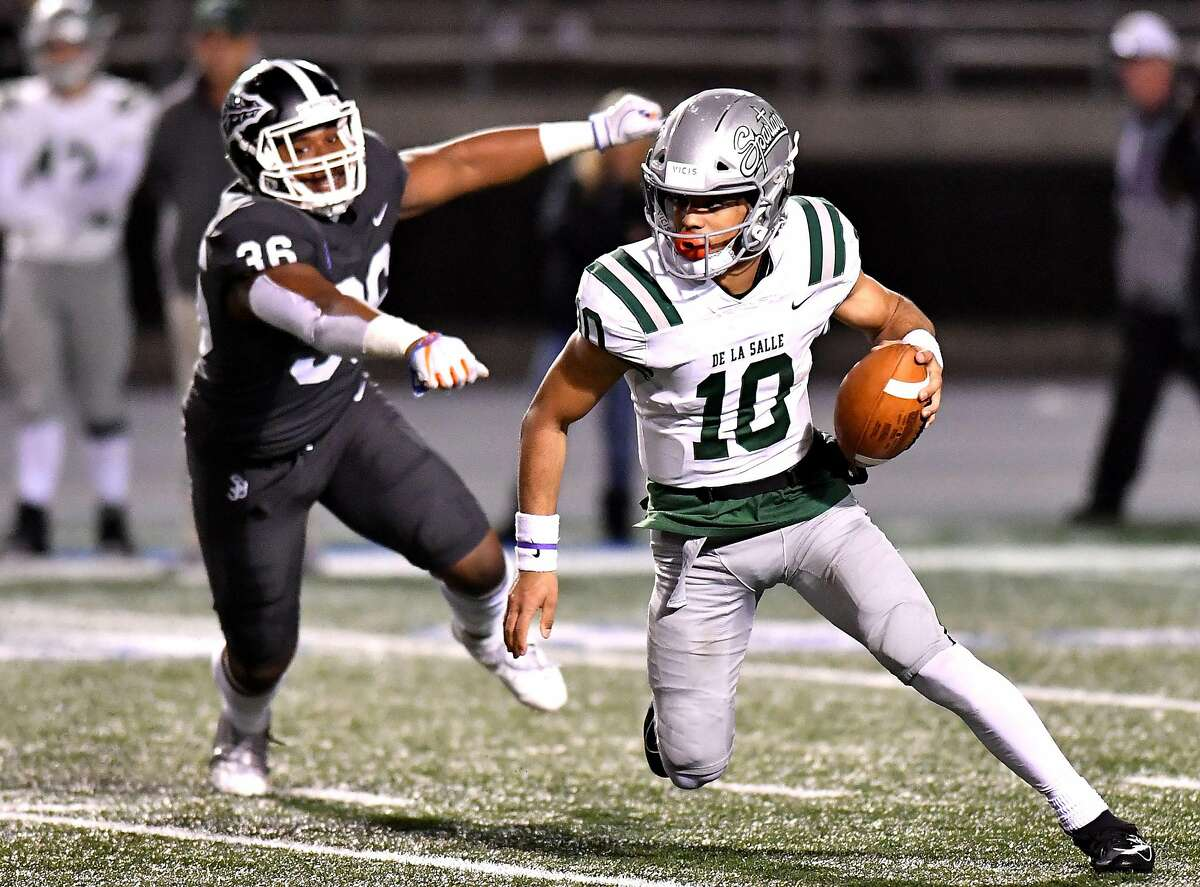 When last he and his De La Salle-Concord teammates played, quarterback Dorian Hale and the Spartans lost to St. John Bosco-Bellflower 49-28 in the Dec. 14, 2019, Open Division state championship game.