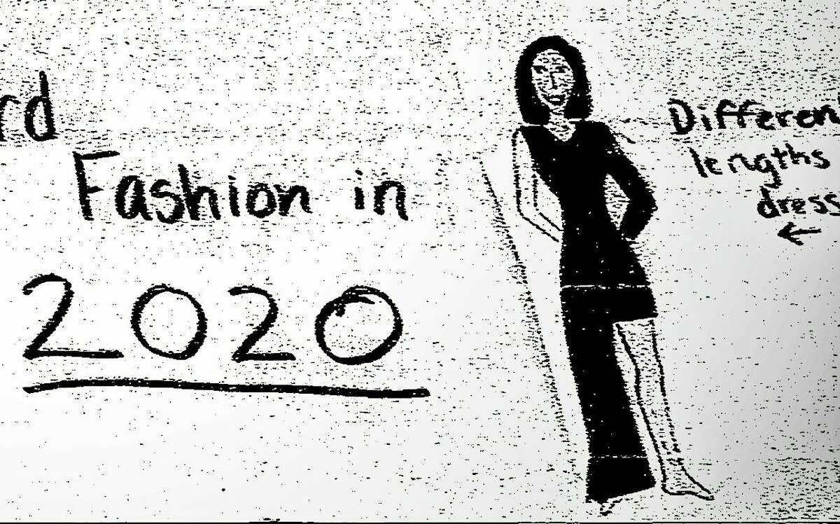 In December 1999, Cloonan School students in Stamford predicted life in 2020, including a one-legged dress similar to one actress Angelina Jolie would wear to the Academy Awards in 2012.