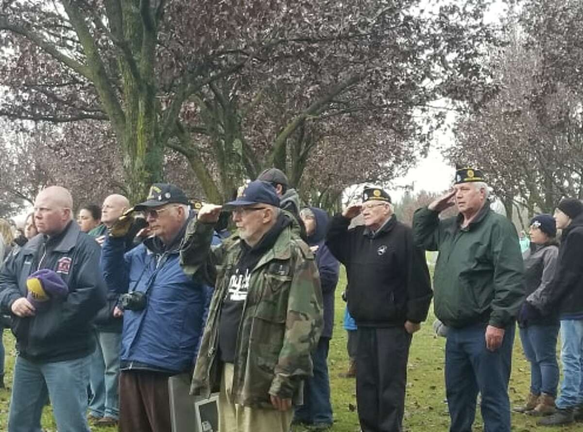 Volunteers honor loved ones and place wreaths at Saratoga National Cemetery during Wreaths Across America on Saturday, December 14, 2019. Learn more.