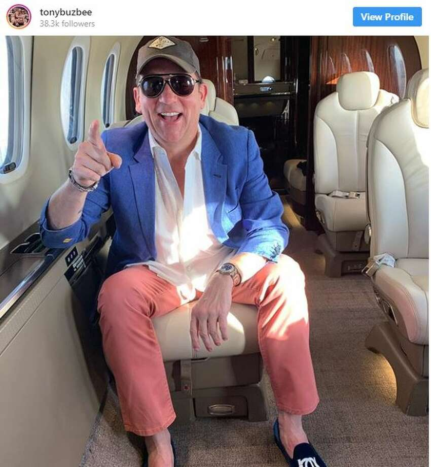 After 100% votes have been counted in Houston's hotly contested mayoral race, contender Tony Buzbee decided to head out of Houston on his private plane on Sunday. Photo: Instagram