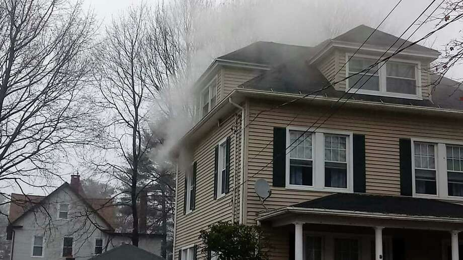 According to the Echo Hose Hook & Ladder Co. 1 Facebook page, about 11 a.m. Dec. 15, 2019, Shelton firefighters responded to the Division Avenue residence for a reported appliance fire. Photo: Echo Hose Hook & Ladder Co. 1 Facebook Page / Contributed