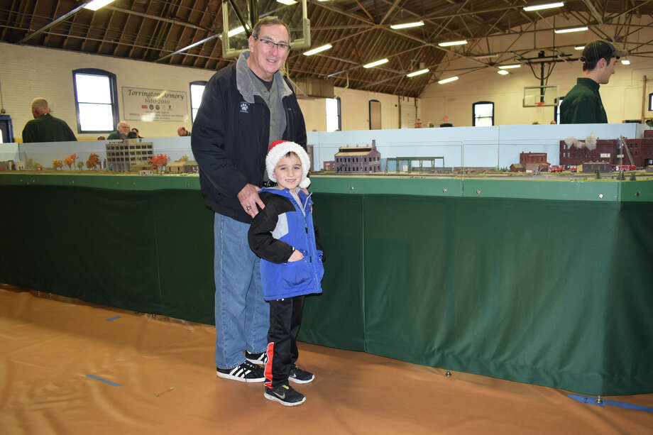 In Pictures: The Torrington Area Model Railroaders held a free model train show / Non-perishable food drive on December 15, 2019 at the Torrington Armory. Folks enjoyed seeing model trains and tiny villages set up by the club. Photo: Lara Green- Kazlauskas/ Hearst Media
