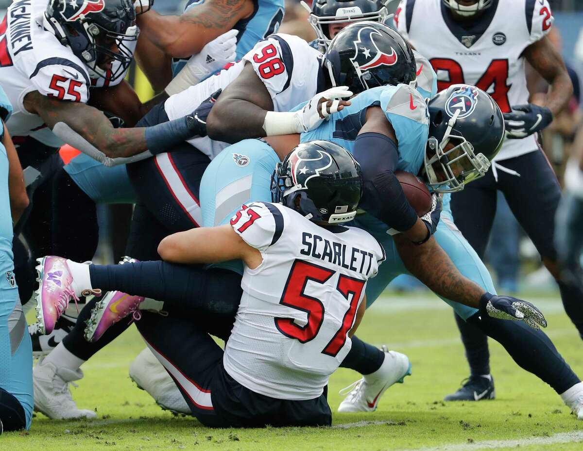 The Titans are looking to get Derrick Henry going Sunday after he was slowed by injury during the first meeting against the Texans.