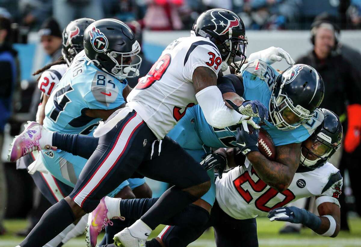Star running back Derrick Henry and the Titans figure to be the biggest threat to the Texans' two-season reign as AFC South champions.
